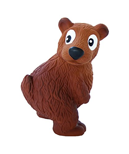 - Outward Hound Tootiez Bear Soft Textured Grunting Dog Squeak Toy