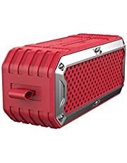AAHDS S6 Wireless Bluetooth Speaker, Multimedia Audio Speaker, Computer Speaker - Red (Color : Red)