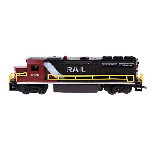 SM SunniMix Simulation Diesel Engine Train Toy Locomotive Model Children Kids Toy Gifts