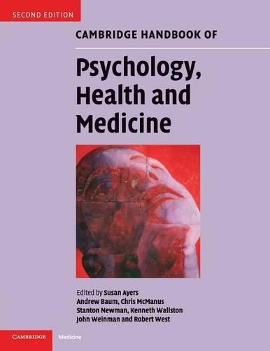 Cambridge Handbook of Psychology, Health and Medicine (Cambridge Handbook Of Psychology Health And Medicine)