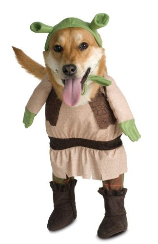 (Shrek Dog Pet Costume - Small)