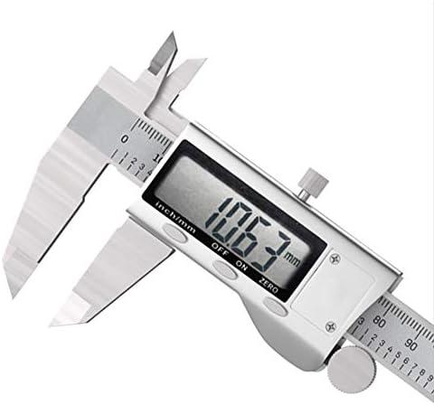 Digital Vernier Caliper, 150Mm/6Inch Stainless Steel Electronic Caliper Inch/Metric Conversion Measuring Tool for Length Width Depth Inner Diameter Outer Diameter
