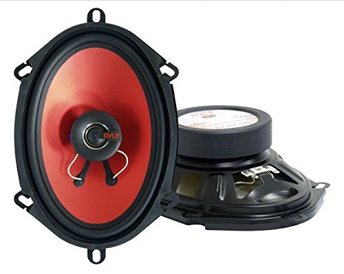 "Pyle 8"" 200 Watt Slim Two-Way Speakers"