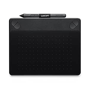 Wacom Intuos Photo - Tableta gráfica, lápiz Intuos Pen, 2540 lpp, 133 pps, tamaño pequeño, color negro