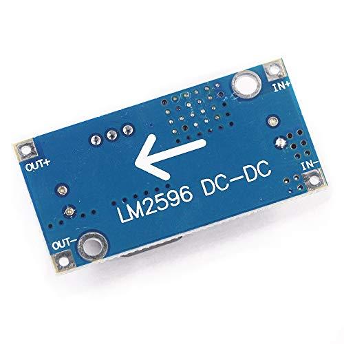 5pcs LM2596 3A Adjustable Step Down Module DC-DC Buck Converter Power Supply Module Output 1.23V-30V