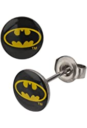Image result for batman stud earrings