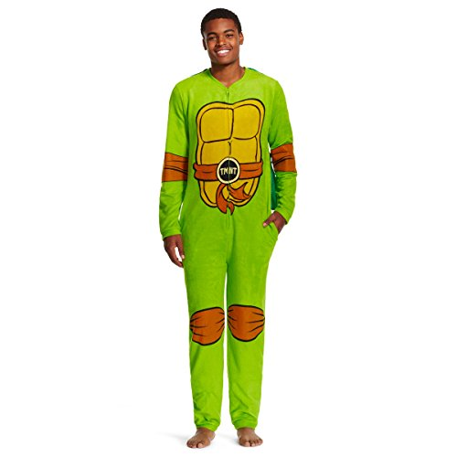 (Tmnt Union Suit w/ Cape Teenage Mutant Ninja Turtles Pajamas)