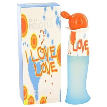 e45554246aaf0 Amazon.com   Moschino I Love Love Eau De Toilette Spray   Moschino Love Love  Perfume   Beauty