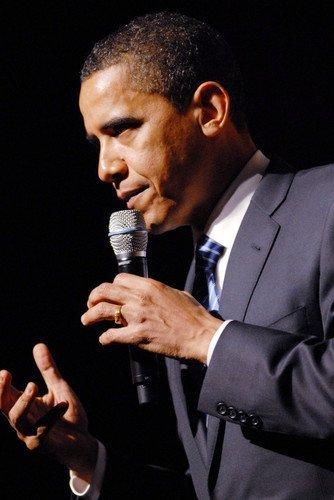 Obama Mini Poster - President Barack Obama 11x17 Mini Poster