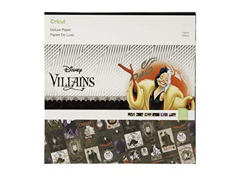 Cricut Deluxe Paper, Disney, Villians