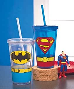 Dc Comics Heroes Double Wall Tumblers