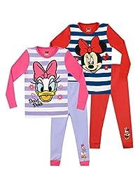 Disney Girls' Minnie and Daisy Pajamas 2 Pack