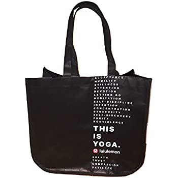 6acdd580a98 Lululemon Holiday Special Edition LARGE Reusable Tote Carryall Gym Bag