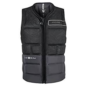 2018 Mystic Stone Impact Vest Front Zip BLACK 180145 Sizes- - Medium