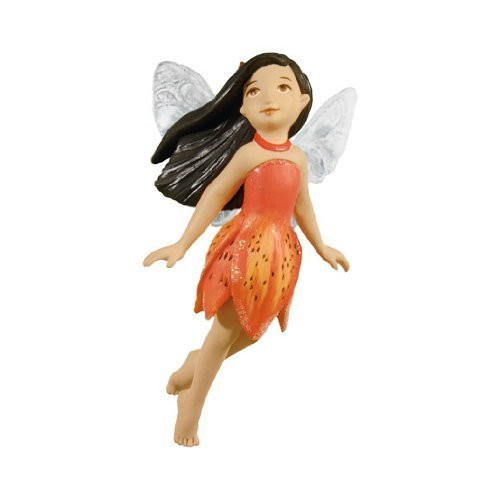 Hallmark Keepsaskes Hallmark Christmas Keepsake - Fairy Messenger #8 - Tiger Lily Fairy - Tree Ornament