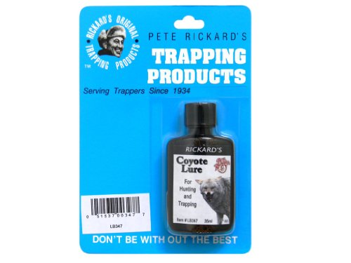 Pete Rickard's Coyote Trapping Lure, 1 (Bait Traps Trapping)