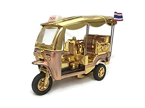 Amazon com: Tuk Tuk Thailand Taxi Fancy Model Collectible 6