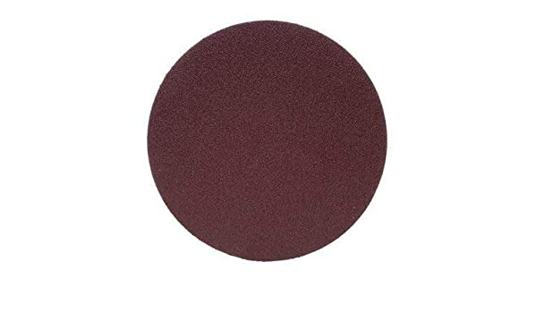 3M TM 2, P180 348D 12 Inch Sanding Disc X Weight Cloth Backing PSA Pressure Sensitive Adhesive Aluminum Oxide OA