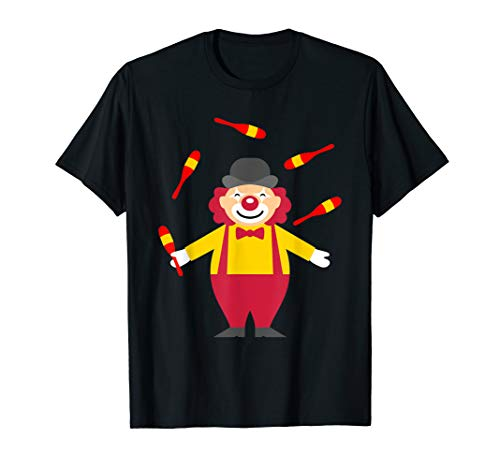 Funny Clown Juggler Circus T-Shirt For Men And Women MM]()