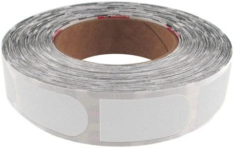 Bowlers Tape 500 Pieces 3//4 Thumb White