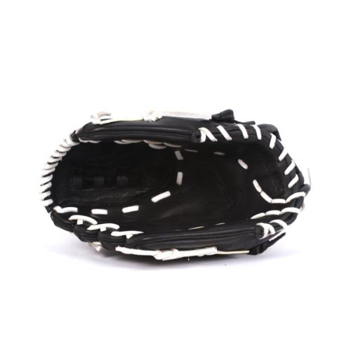 GL-120 Competition Baseball Glove, Genuine Leather, Outfield, Size 12, Black (Baseball Glove Leather 12')
