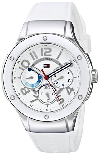 """Tommy Hilfiger Women's 1781310 """"Sport Lux"""" Stainless Stee..."""