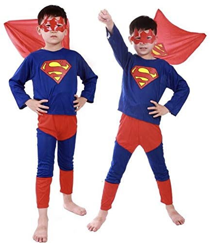 ONCEUPON Superman Kids Costume size Toddler 2T/3THalloween, Dress-up PRIME