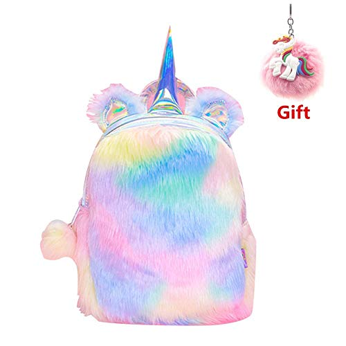 GIRL'S SOFT RAINBOW CARRY BAG