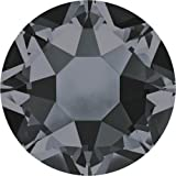 2000, 2038 & 2078 Swarovski Flatback Crystals Hotfix Crystal Silver Night | SS20 (4.7mm) - Pack of 100 | Small & Wholesale Packs