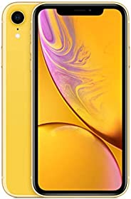 Apple iPhone XR (128GB, Yellow) [Locked] + Carrier Subscription
