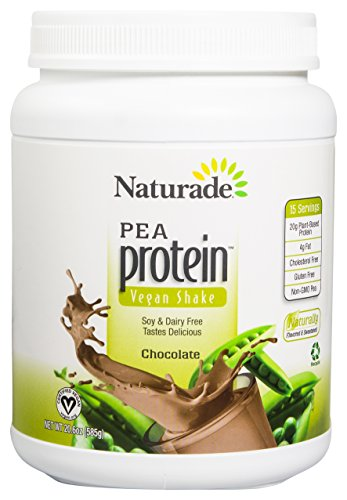 Naturade Pea Protein Diet Supplement Jug, Chocolate, 20.64 Ounce