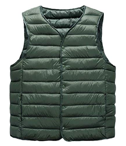 Down Lightweight 2 Vest Men's Gocgt Slim Puffer Jacket Packable ZtpIxqw6