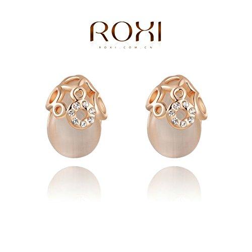 Jew :ROXI fashion new arrival, genuine Austrian crystal,opals earrings,women trendy earrings Chrismas/Birthday gift,2020037505