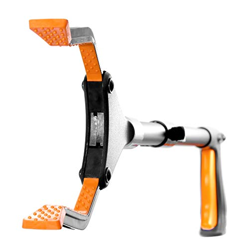 "EZPIK 26"" Grabber Reacher Tool, Short Foldable Pickup Stick - Reaching Aid for Elderly with Magnetic Tip & Rotating Claws - Litter & Trash Durable Picker Upper"
