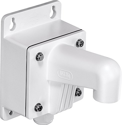 TRENDnet Compact Outdoor Wall Mount Bracket for Dome Cameras, Mount, Compatible with TRENDnet Dome Cameras: TV-IP311PI/TV-IP321PI/TV-IP315PI, TV-WS300