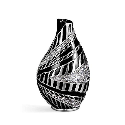 ORE International K-4266V Stellaire Decorative Vase, 14-Inch Height