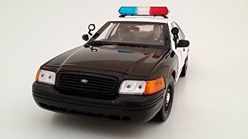 Seated Police Officers 2 Piece Figure Set for 1:24 Models by American Diorama 23826