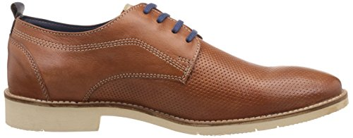 ID Mens Leather Sneakers Tan MskBVZm