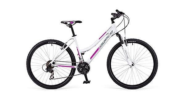 Agece Sierra-26D Bicicleta de montaña, Mujer, Blanco/Rosa, S ...