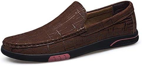 新しいファッション男性ローファー男性本革カジュアルシューズ高品質大人モカシン男性運転靴男性靴通気性ビジネス夏ウォーキングラウンドトゥ