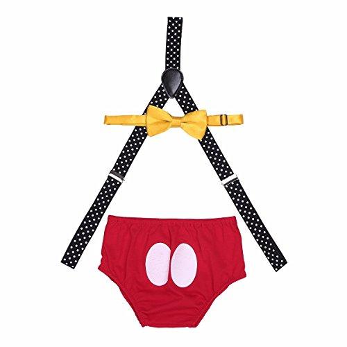 Set Immagine Farfalla Ripresa Vestiti Bretella Babys Vestito Primo Calzoncini A Cravatta Compleanno Tiaobug K71BTUAK