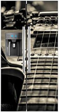 Vinilo Frigorífico Americano Guitarra Eléctrica | 91x179cm ...