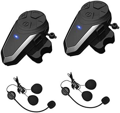 Waterproof Motorcycle Helmet Bluetooth Headset Wireless Interphone Headphones