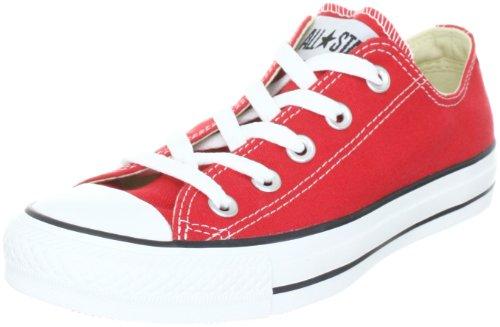 Converse AS Season Ox Tex 130130C - Zapatillas de lona unisex Rojo