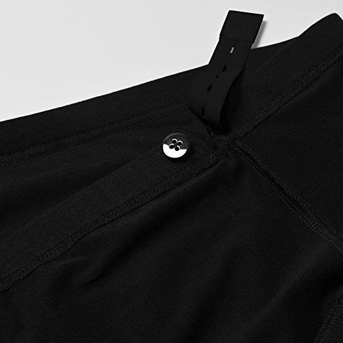 GINKANA High Waist Maternity Denim Shorts Cotton Summer Over Belly Pregnancy Shorts Linen Pants by GINKANA (Image #6)