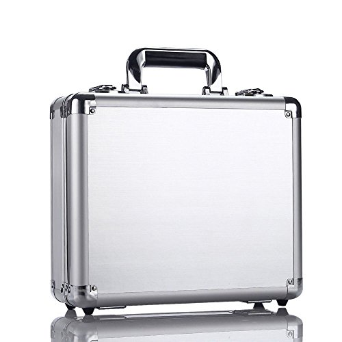 Bangcool Aluminum Carry Case Waterproof Anti-Shock Box Suitcase for DJI Mavic Pro Drone Quadcopter ( Silver ) by bangcool