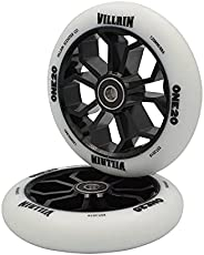 Villain One20 Replacements Scooter Wheels Black & White 1