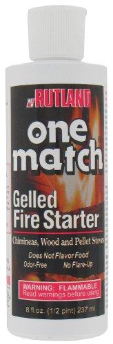 Rutland Products 8 Oz One Match Gelled Fire Starter