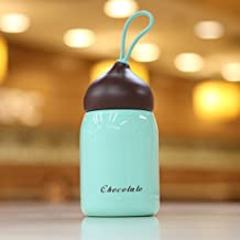 Water Bottle For Travelling Fishing Car Driving, Creative Stainless Steel Mini Kettle Portable Sports Mug, Green 200Ml