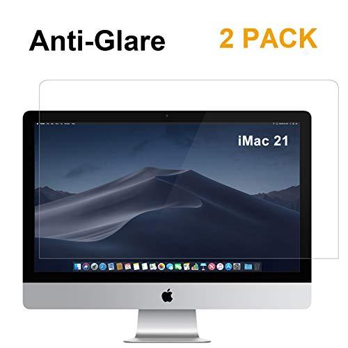 [2 Pack] FORITO Anti Glare Matte Screen Protector Compatible Apple iMac 21 inch All-in-Ones Desktop Screen (Inch Computer Desktop 21)